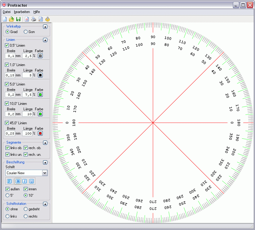 Download free Protractor by Michael Dombrowski software 103502: protractor.sharewarejunction.com